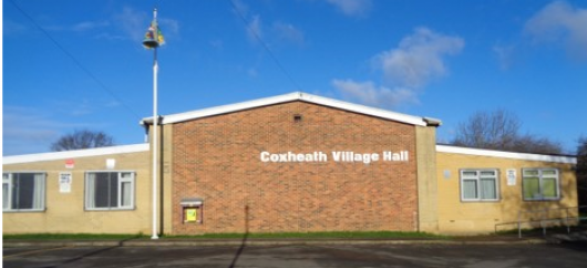 Front view of Coxheath Village Hall